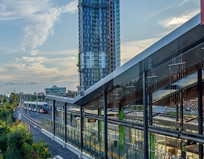Reimagined: Ottawa's Blair LRT Station