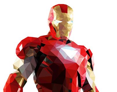 Iron Man | Polyart