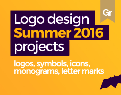 LOGO DESIGN projects, Summer 2016
