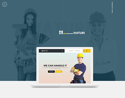 HATURI - Wordpress Theme For Construction Business