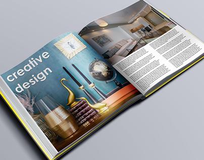 Creative Design Book Mock-up PSD Template
