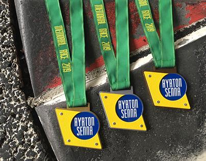 MEDAL & CUP AYRTON SENNA MEMORIAL RACE'19