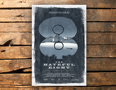 The Hateful 8 Film Poster