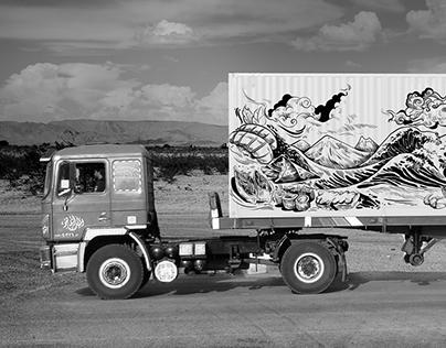 Maruti Suzuki Fusion Cafe- Wall art