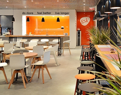 GSK corporate restaurant