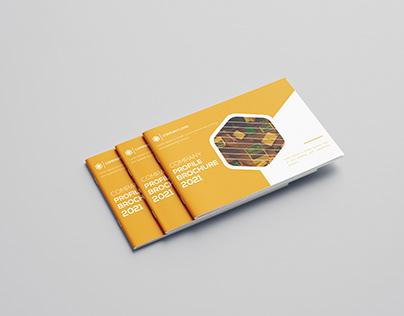 Landscape Company Profile Brochure Design Free Template