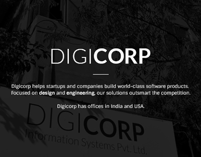 Digicorp - Branding/Corportate Identity