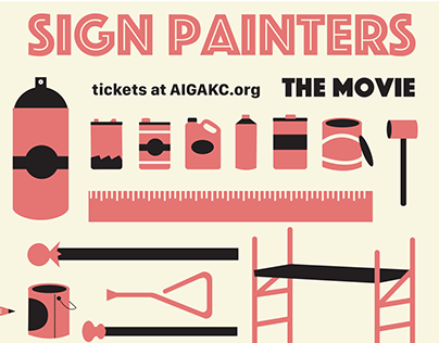 AIGA Event: Movie Screen, Sign Painters: the Movie