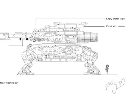 Tank for StarWars