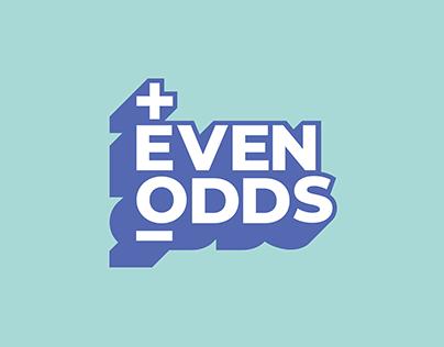 Even Odds Logo Animation