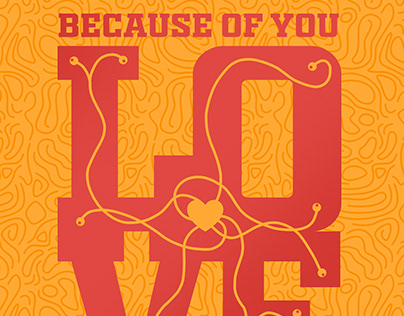 Because Of You Poster Competition