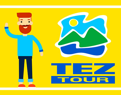 "Advertising for travel company ""TEZ TOUR"""