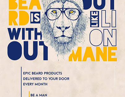 Dollar Beard Club Advertisement