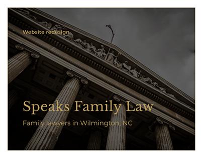 Speaks Family Law