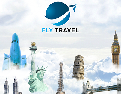 Travel banner example.