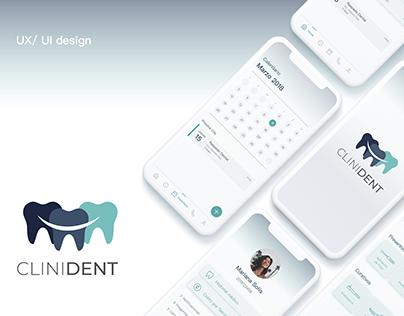 CliniDent   UX/UI design