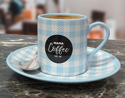 Espresso cup for Adobe Dimension