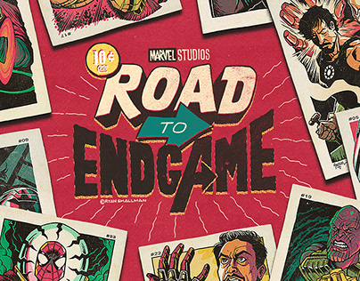 ROAD TO ENDGAME - MARVEL CARDS