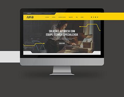 AX4B Website Design
