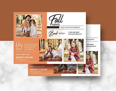 Fall / Autumn Mini Session Template