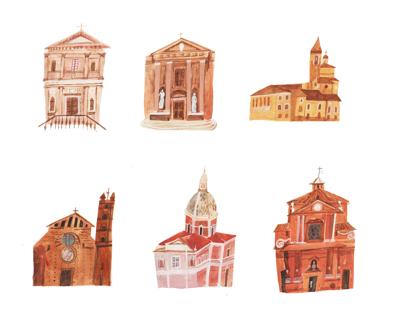 Le chiese di Siena