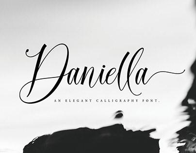 Daniella Script! Strong Calligraphy