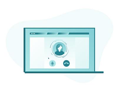 Customer Service Platform Illustrations