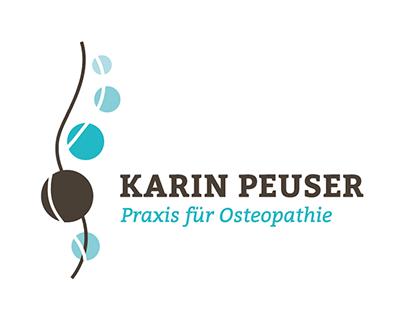 Praxis für Osteopathie - Karin Peuser / Logogestaltung