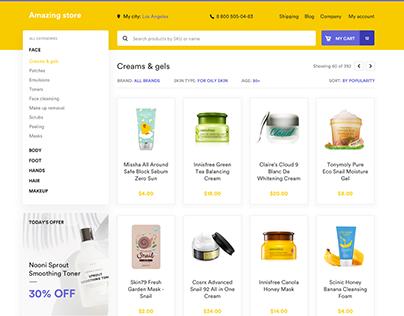 High-conversion ecommerce UI kit