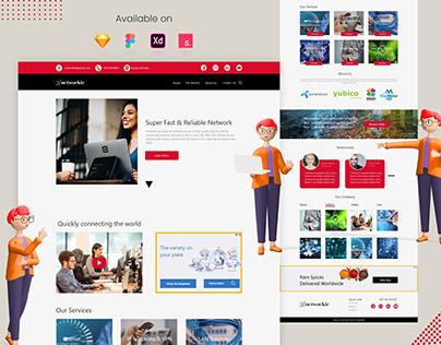 Internet Service Provider Web UI | networkie