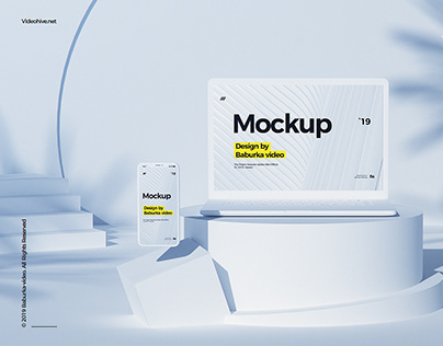 Devices Mockup // Geomettric