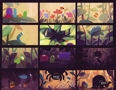 "Storybots ""Flowers"" Episode Development"