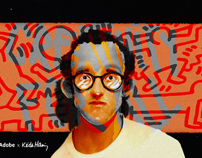 Adobe x Keith Haring   Creativity For All