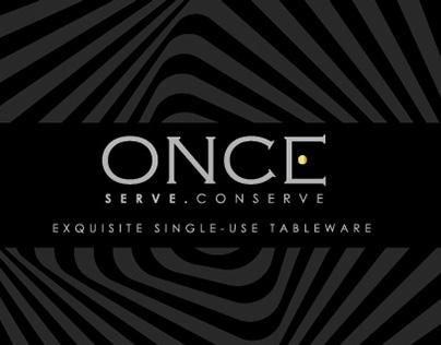 Once - Branding