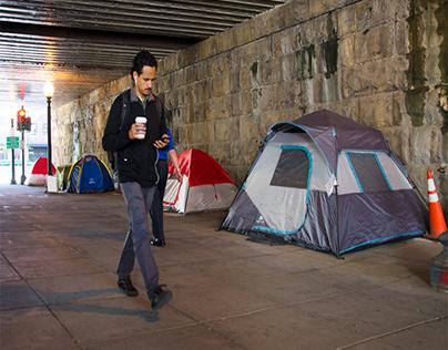 Homeless in Washington, D.C.