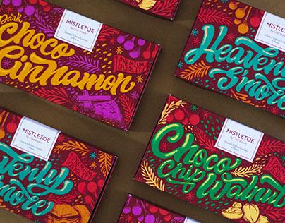 Mistletoe Cookie Packaging