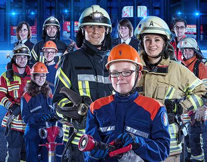 Feuerwehr Kampagne zur Mitgliederwerbung