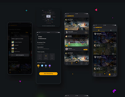 Game Livestreaming App