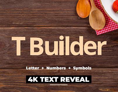 Text Builder