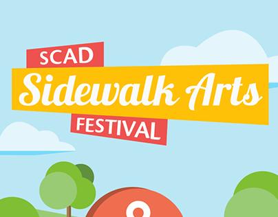 SCAD Sidewalk Arts Festival App