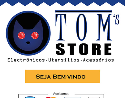 Visual Identity for Tom's Store
