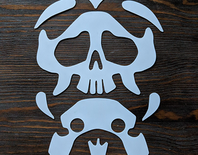 Product Design for Laumeier Sculpture Park Kids' Mask
