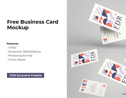 Free Exclusive Business Mockup