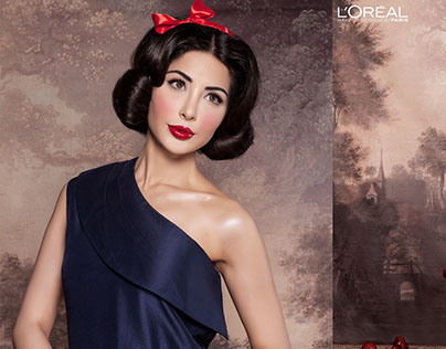 L'oreal Paris #ColourEverAfter (Snow White)