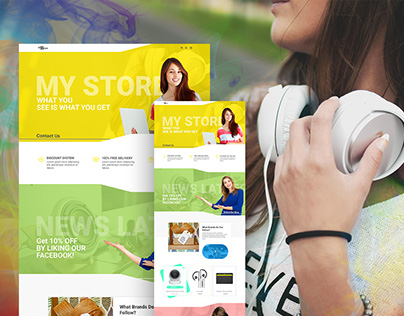 My Store ECommerce site trample