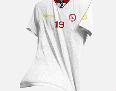 Tunisian Handball Kit for World Cup 2021