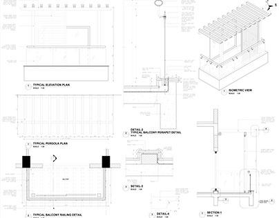 Terrace, Pergola & Window Details