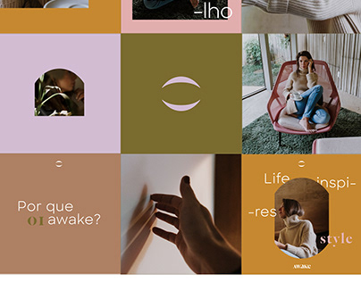 Awake - Instagram visual identity