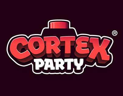 Cortex Party Mobile game logo
