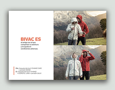 Catalogue Design. Sport Brand